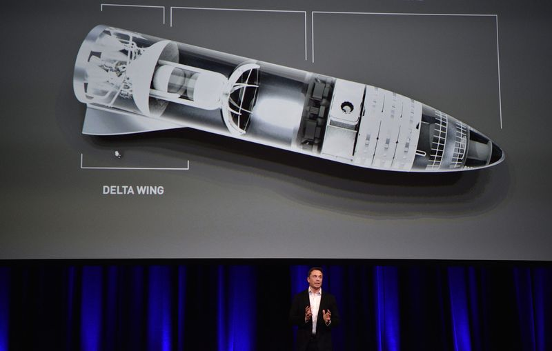 صاروخ نقل الركاب BFR