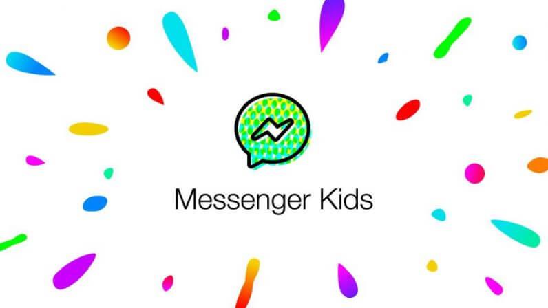 شعار تطبيق فيسبوك ماسنجر للأطفال