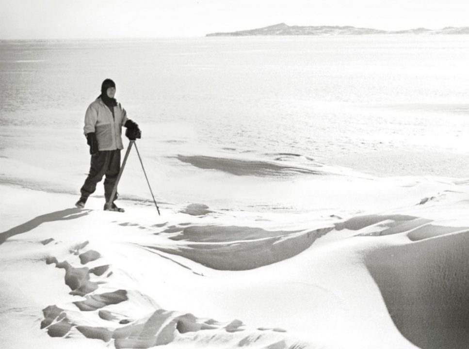 روبرت سكوت في أنتاركتيكا