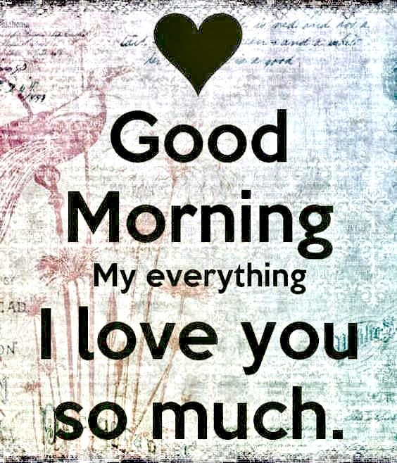 صباح الخير يا كل شيء بالنسبة إلي بالانجليزية