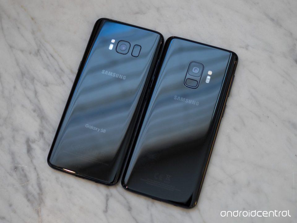 الترقية من Galaxy S8 إلى Galaxy S9