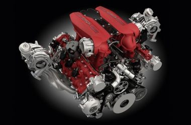 Ferrari V8 Engine Winner
