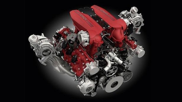 Ferrari V8 Engine Winner