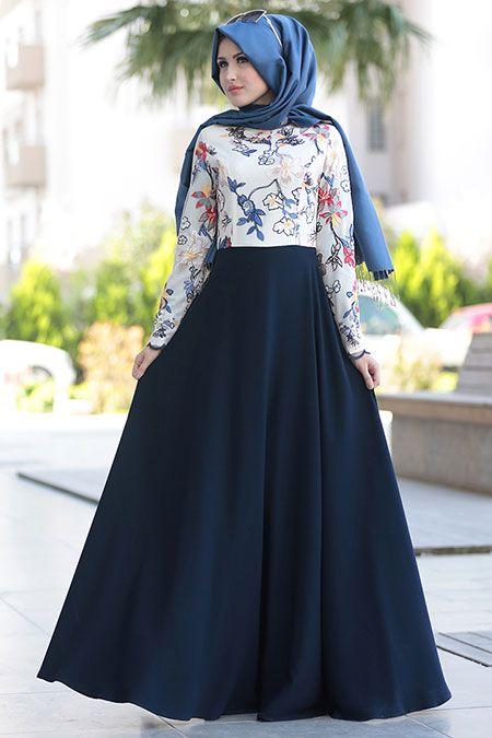 جيبة حميلة داكنة اللون من تصميمات 2018
