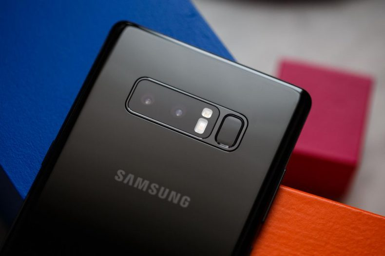 كاميرا Galaxy Note 8
