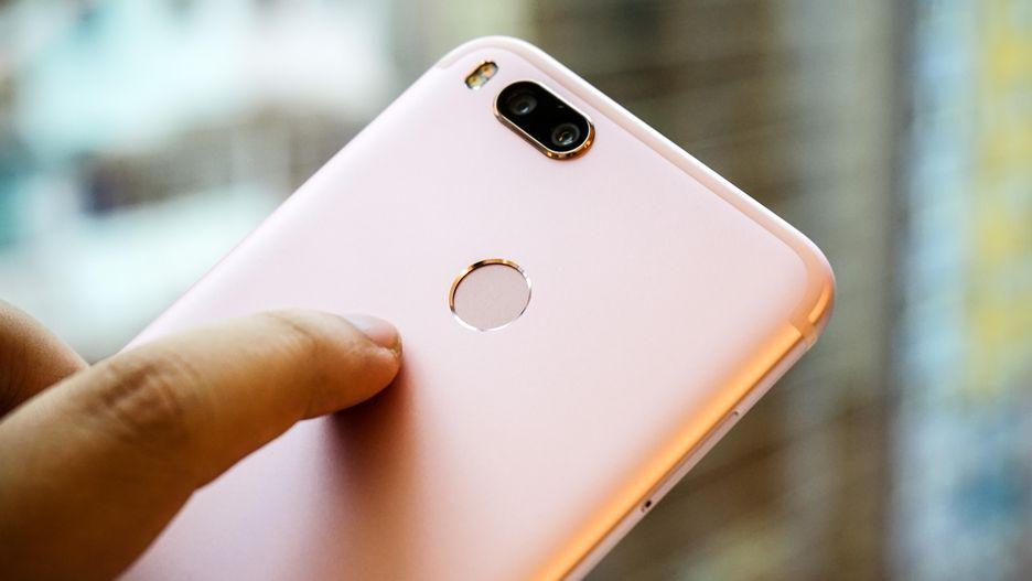 Xiaomi Mi A1 fingerprint