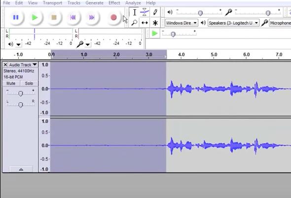برنامج Audacity: تسجيل ومونتاج الصوت وإضافة المؤثرات الصوتية - دليل خطوة بخطوة 11