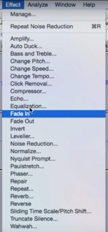 برنامج Audacity: تسجيل ومونتاج الصوت وإضافة المؤثرات الصوتية - دليل خطوة بخطوة 12