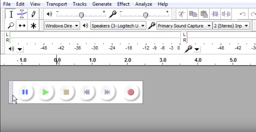 برنامج Audacity: تسجيل ومونتاج الصوت وإضافة المؤثرات الصوتية - دليل خطوة بخطوة 3