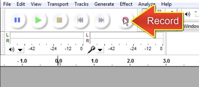 برنامج Audacity: تسجيل ومونتاج الصوت وإضافة المؤثرات الصوتية - دليل خطوة بخطوة 6