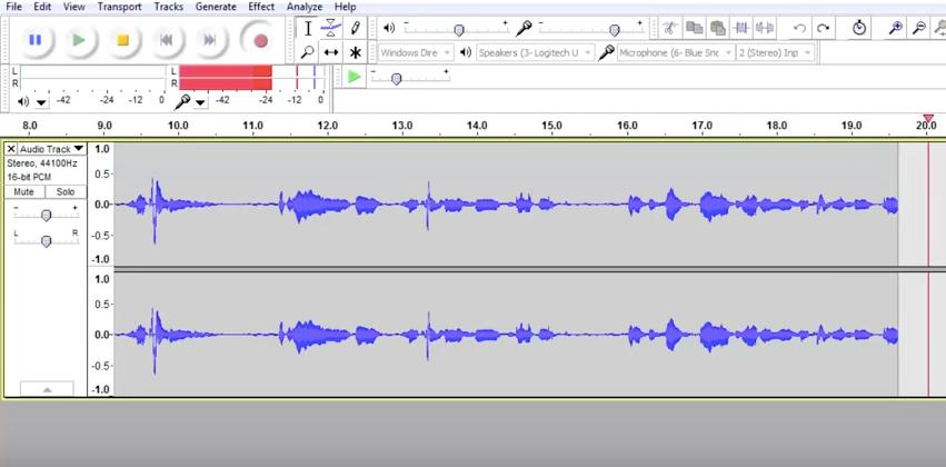 برنامج Audacity: تسجيل ومونتاج الصوت وإضافة المؤثرات الصوتية - دليل خطوة بخطوة 7