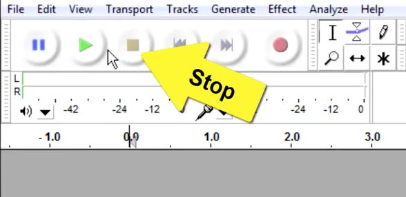 برنامج Audacity: تسجيل ومونتاج الصوت وإضافة المؤثرات الصوتية - دليل خطوة بخطوة 8