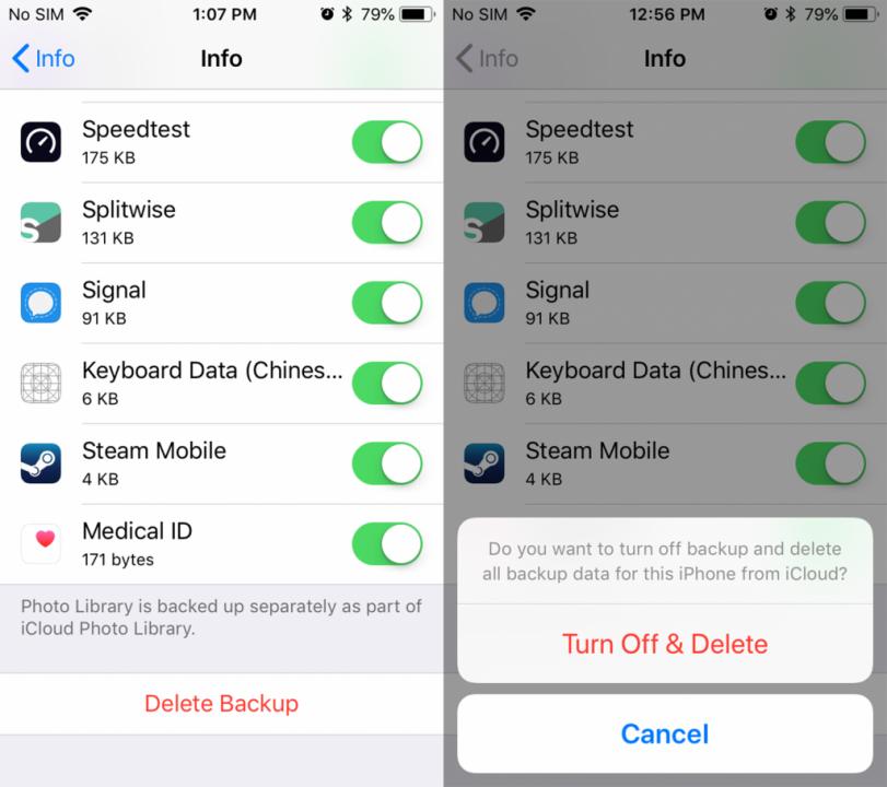 طريقة حذف التطبيقات من على iCloud 4